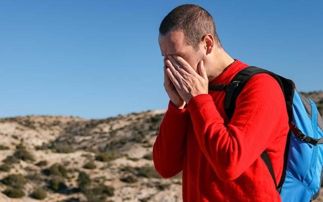 Kopfschmerzen können in den unpassendsten Situationen auftreten